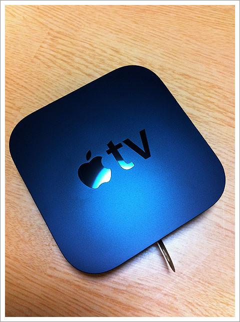 Apple TVもらった!