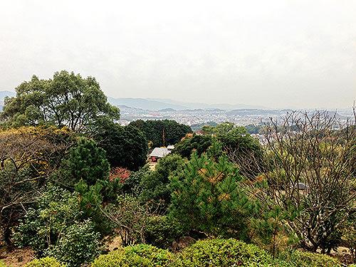 皿山公園からの眺め