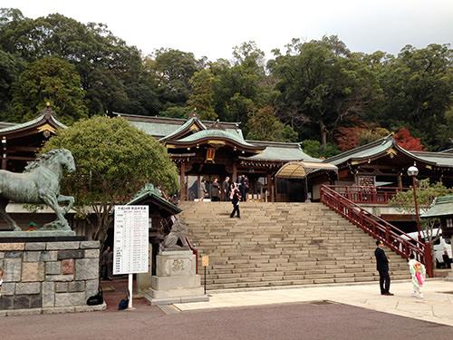 諏訪神社登ってきた
