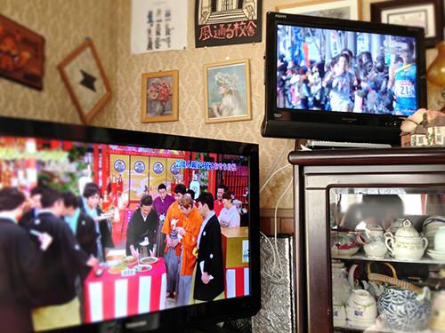 ダブルテレビ