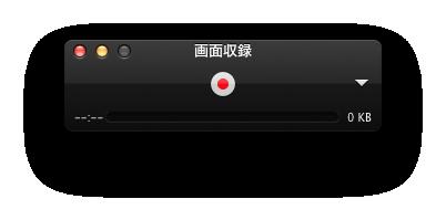 録画ボタン