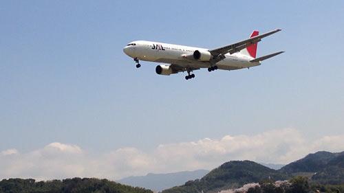 飛行機 JAL