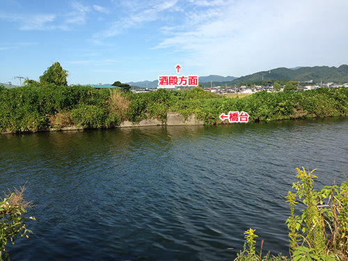 川越しの橋台