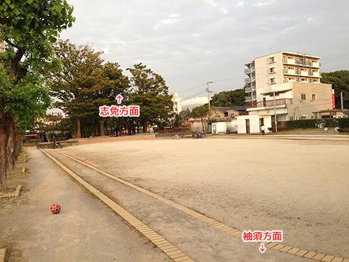 上亀山駅跡公園