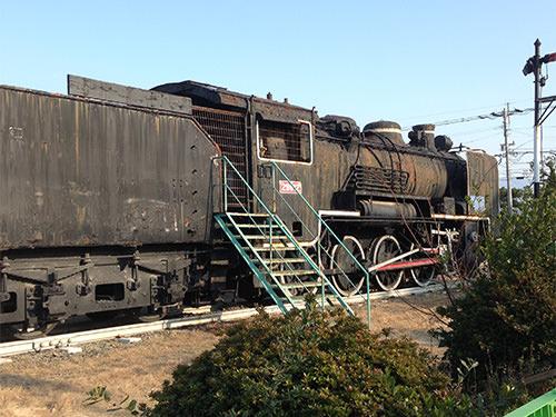 機関車の側面
