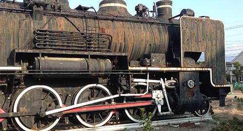 機関車の側面2