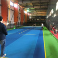 テニスをしているの写真