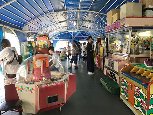 レトロゲームコーナーの写真