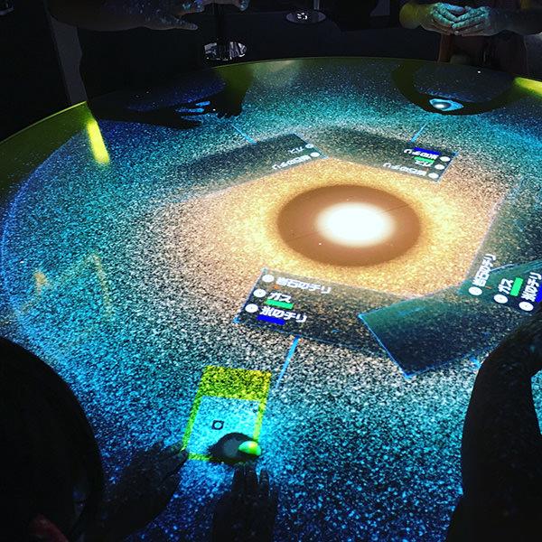 宇宙の展示の写真